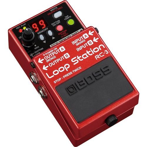 BOSS Guitar Effect Loop Station [RC-3] - Gitar Stompbox Effect